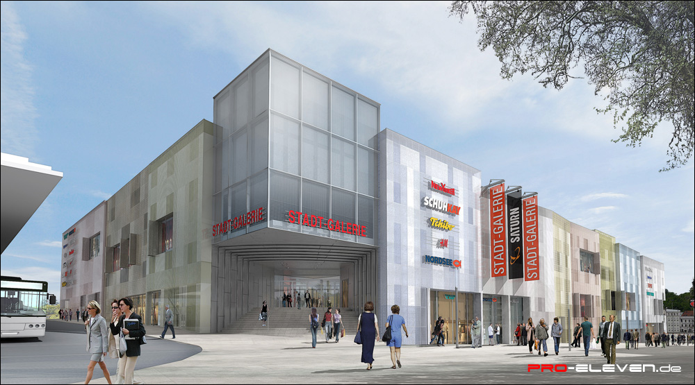 Architekten Passau projekte architektur stadtgalerie passau pro eleven münchen