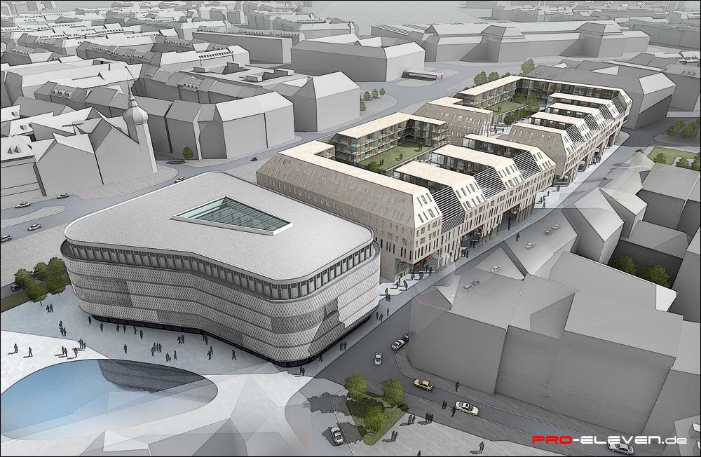 Architekten In Leipzig projekte architektur kaufhaus leipzig pro eleven münchen