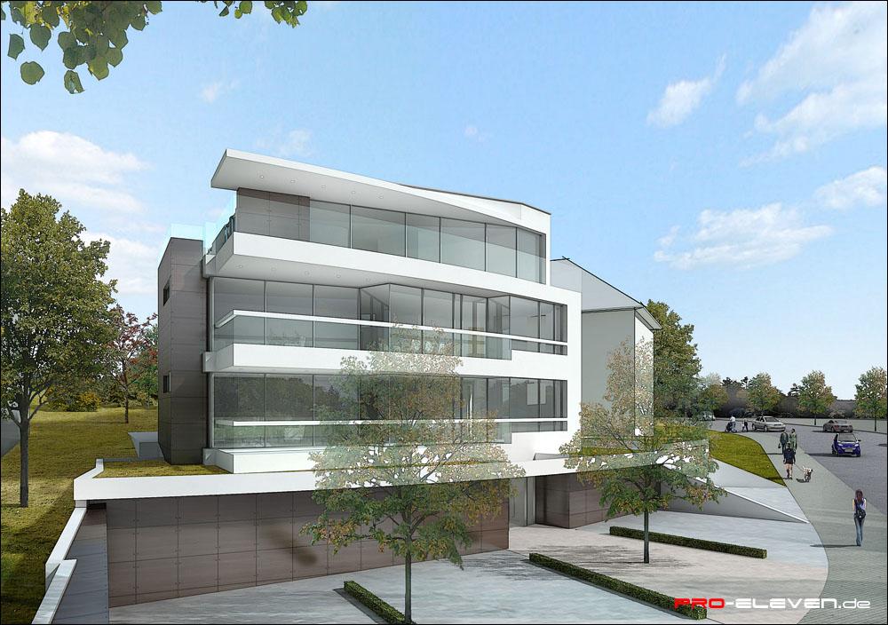 3d Visualisierung Stuttgart projekte architektur mehrfamilienhaus stuttgart pro eleven