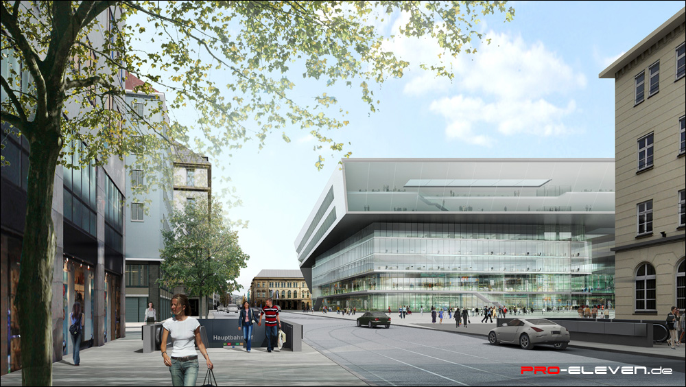 projekte architektur hbf münchen pro eleven münchen