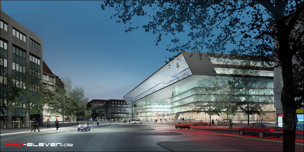 Visualisierung München projekte architektur hbf münchen pro eleven münchen