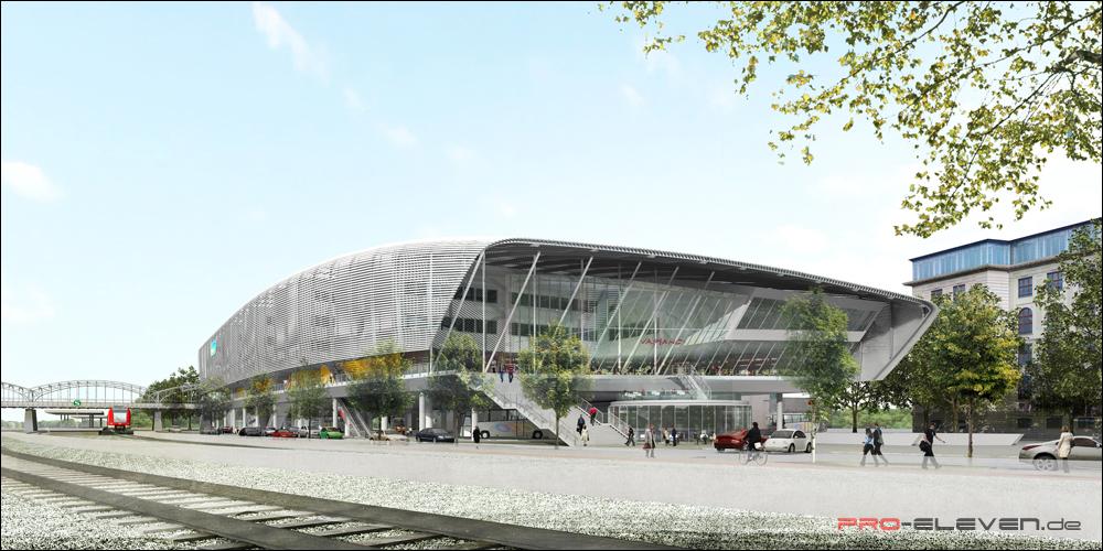 Visualisierung München projekte architektur zob münchen pro eleven münchen
