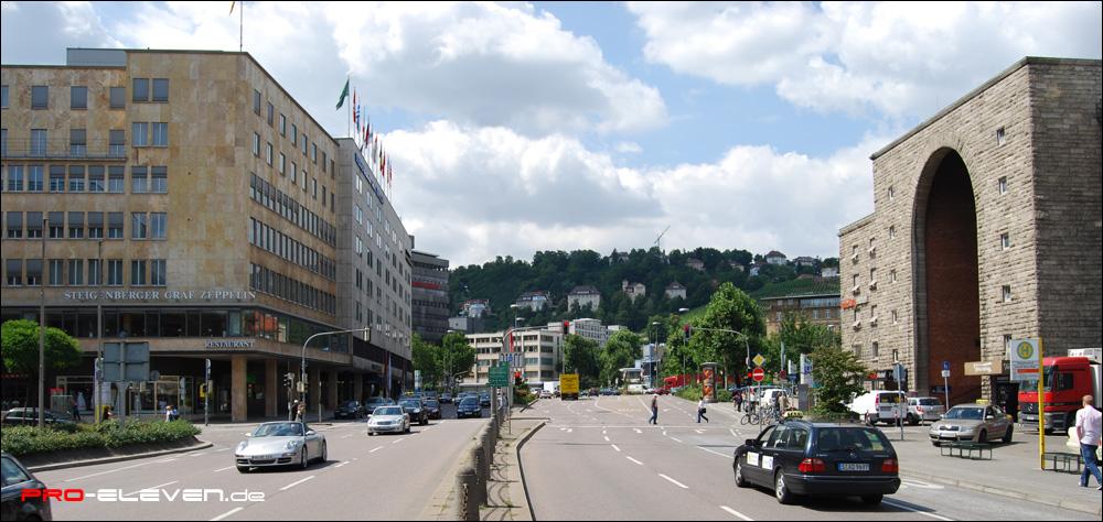 Architekturvisualisierung Stuttgart projekte fotomontage bürohochhaus kriegsbergstraße stuttgart