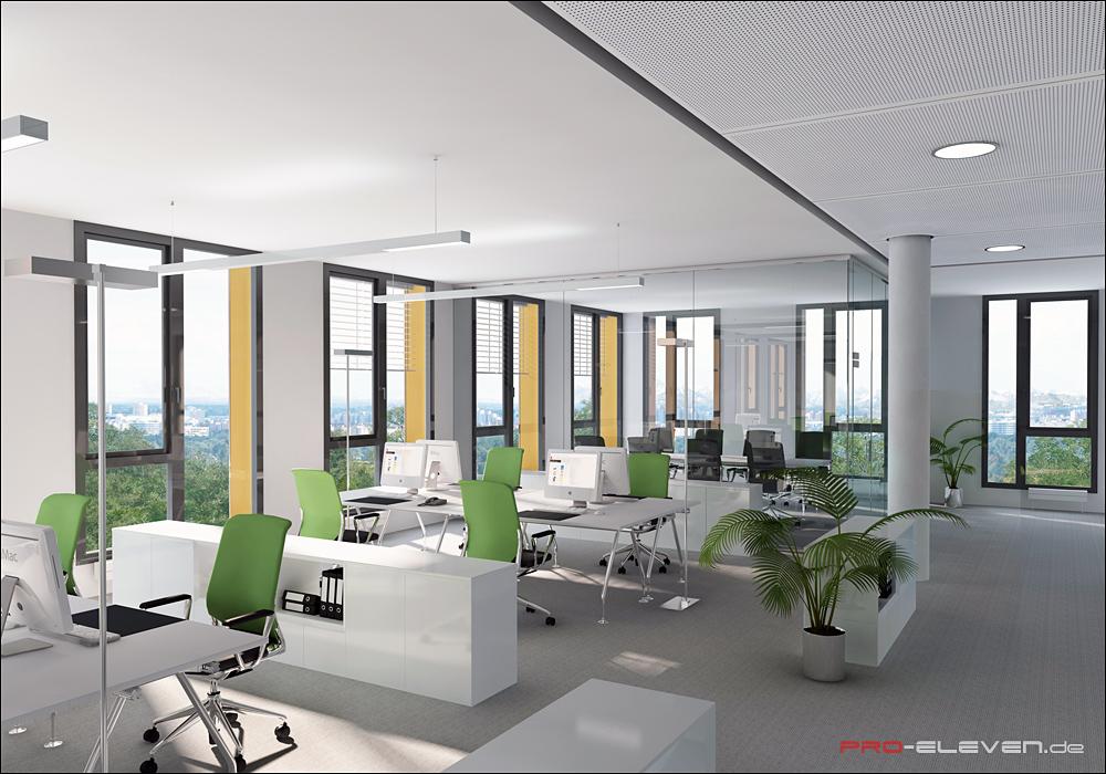 Visualisierung München projekte innenraum bsm münchen pro eleven münchen architektur