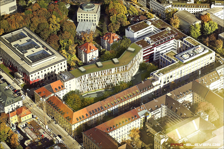 Visualisierung München projekte architektur landeshauptarchiv potsdam pro eleven