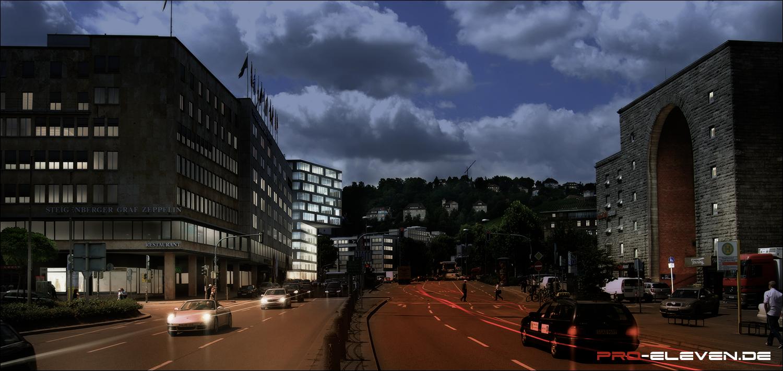 Architekturvisualisierung Stuttgart projekte architektur landeshauptarchiv potsdam pro eleven