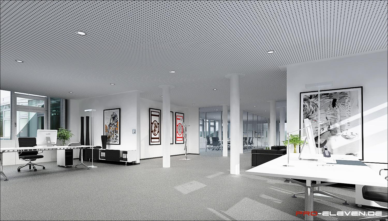 Visualisierung München projekte innenraum fh donaudeich pro eleven münchen